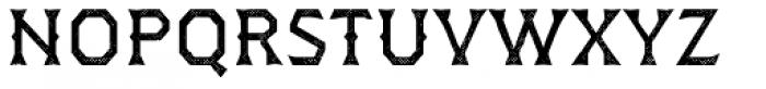 Dever Wedge Halftone Regular Font LOWERCASE