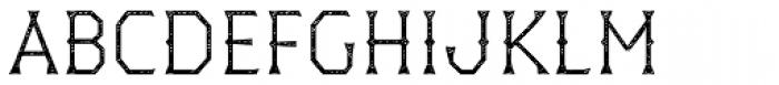 Dever Wedge Jean Light Font UPPERCASE