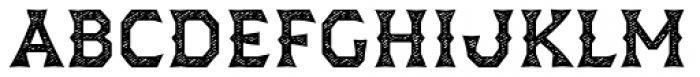 Dever Wedge Jean Medium Font UPPERCASE