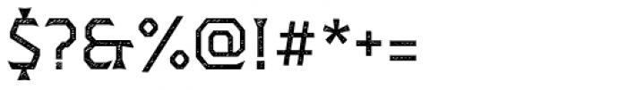 Dever Wedge Jean Regular Font OTHER CHARS