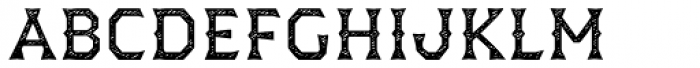 Dever Wedge Jean Regular Font LOWERCASE