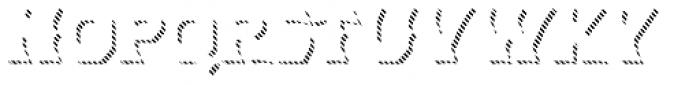 Dever Wedge Line Medium Font LOWERCASE