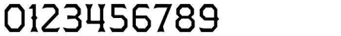 Dever Wedge Regular Font OTHER CHARS