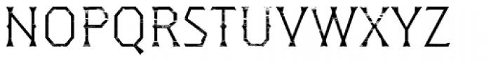 Dever Wedge Wood Light Font UPPERCASE