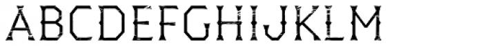 Dever Wedge Wood Light Font LOWERCASE