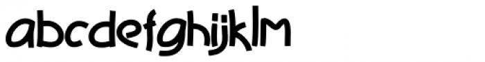 Deviato Bold Font LOWERCASE