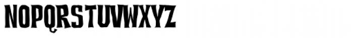 Devil Dog BTN Font LOWERCASE
