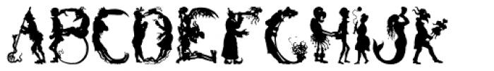 Devilish Font UPPERCASE