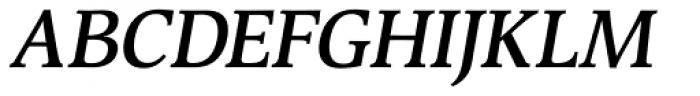 Devin SemiBold Italic Font UPPERCASE