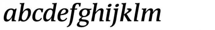 Devin SemiBold Italic Font LOWERCASE