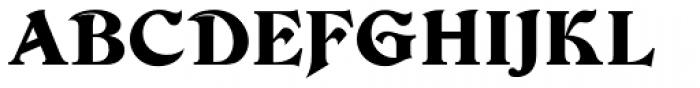 Devinne D Regular Font UPPERCASE