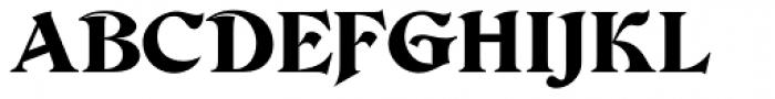 Devinne Ornament Font UPPERCASE