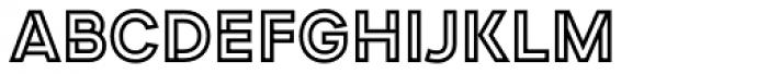 Devinyl Fold Font UPPERCASE
