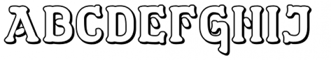 Dewhirst Display No4 Font UPPERCASE