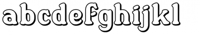 Dewhirst Display No4 Font LOWERCASE