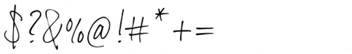 Dextera Font OTHER CHARS