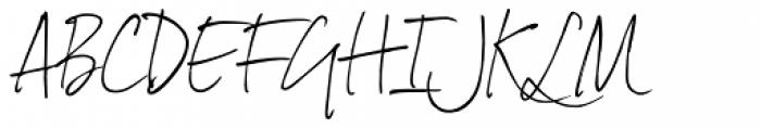 Dextera Font UPPERCASE