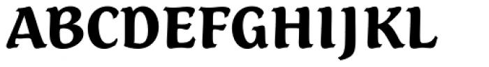 Dez Petranian Black Font UPPERCASE