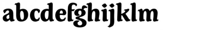 Dez Petranian Black Font LOWERCASE