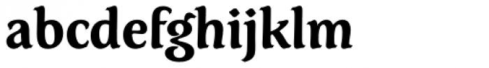 Dez Petranian Bold Font LOWERCASE