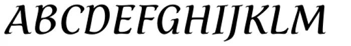 Dez Petranian Italic Font UPPERCASE