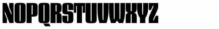 Dez Squeeze Pro Main Font UPPERCASE