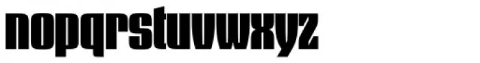 Dez Squeeze Pro Main Font LOWERCASE
