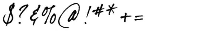 dearJoe 2 Font OTHER CHARS