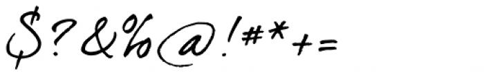dearJoe 4 Plaincaps Font OTHER CHARS