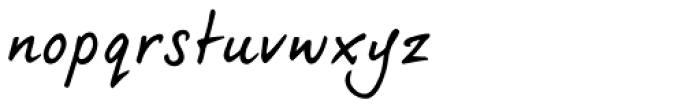dearJoe 5 Casual Pro Small Face Font LOWERCASE
