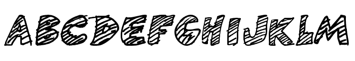 DF-GameOver Font UPPERCASE
