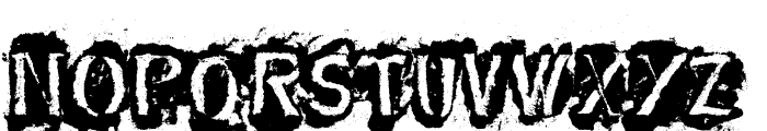 DF-Stromboli Font UPPERCASE