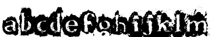 DF-Stromboli Font LOWERCASE