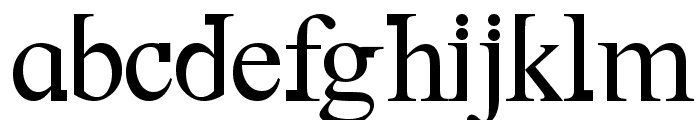 DF667  New Kinder Font LOWERCASE