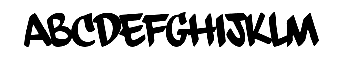 dfdChasquilla Font UPPERCASE