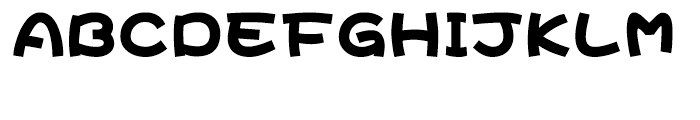 DF Hai Bao Simplified Chinese GB-W 12 Font UPPERCASE