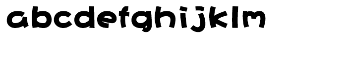 DF Hai Bao Simplified Chinese GB-W 12 Font LOWERCASE