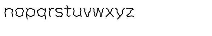 DF Horror Japanese A-W 3 Font LOWERCASE