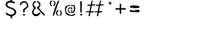 DF KoKap 2 Font OTHER CHARS