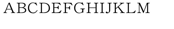 DF Kyokasho W 3 Font UPPERCASE