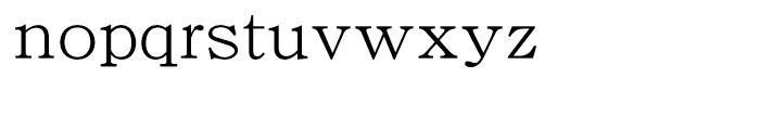 DF Kyokasho W 3 Font LOWERCASE
