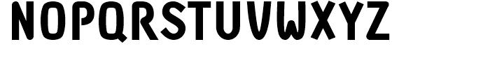 DF Staple TXT black Caps Font UPPERCASE