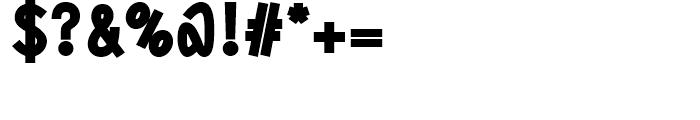 DF Staple TXT black Font OTHER CHARS