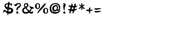 DF Tegaki Warabe Japanese Sumi-W 7 Font OTHER CHARS