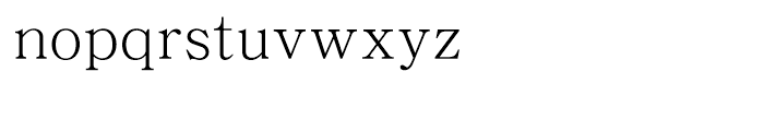 DFP Song Simplified Chinese W 3 Font LOWERCASE