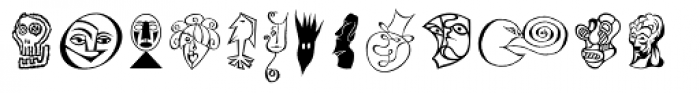 DF Moderns Font UPPERCASE