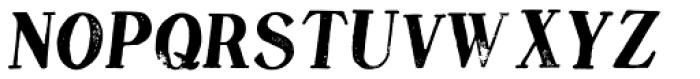 DF Pommes Frites Italic Font UPPERCASE