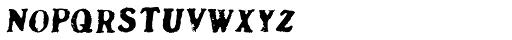 DF Pommes Frites Italic Font LOWERCASE