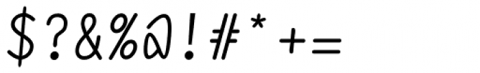 DF Staple Mono Medium Italic Font OTHER CHARS