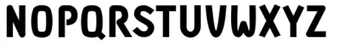 DF Staple TXT Black Font UPPERCASE